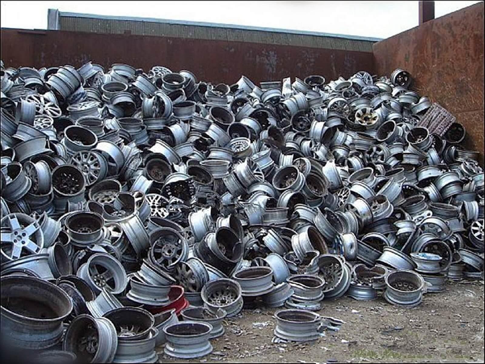 Алюминиевые диски металлолом