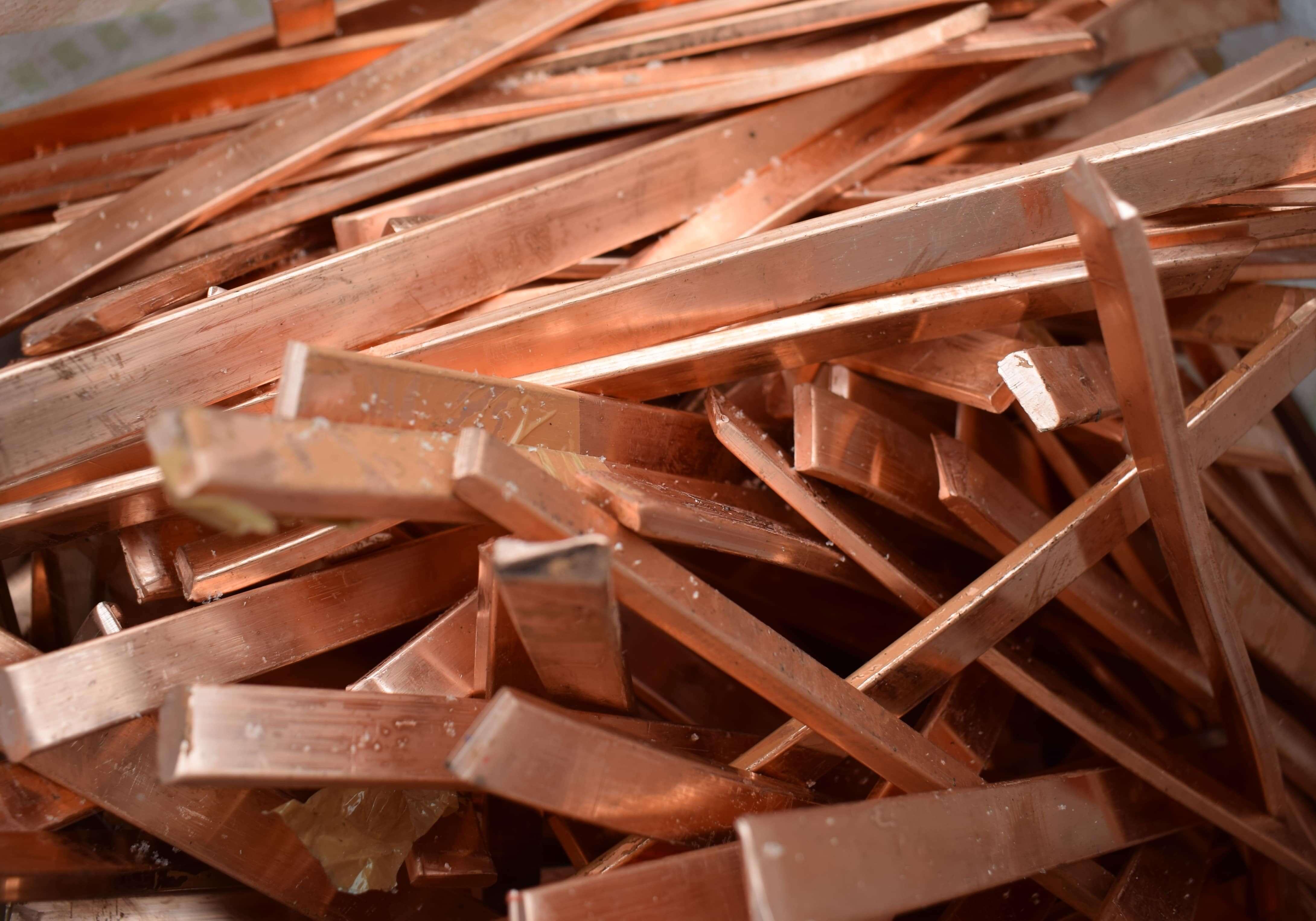 Прием кускового лома меди в пунктах приема металлолома НЗ-Металл